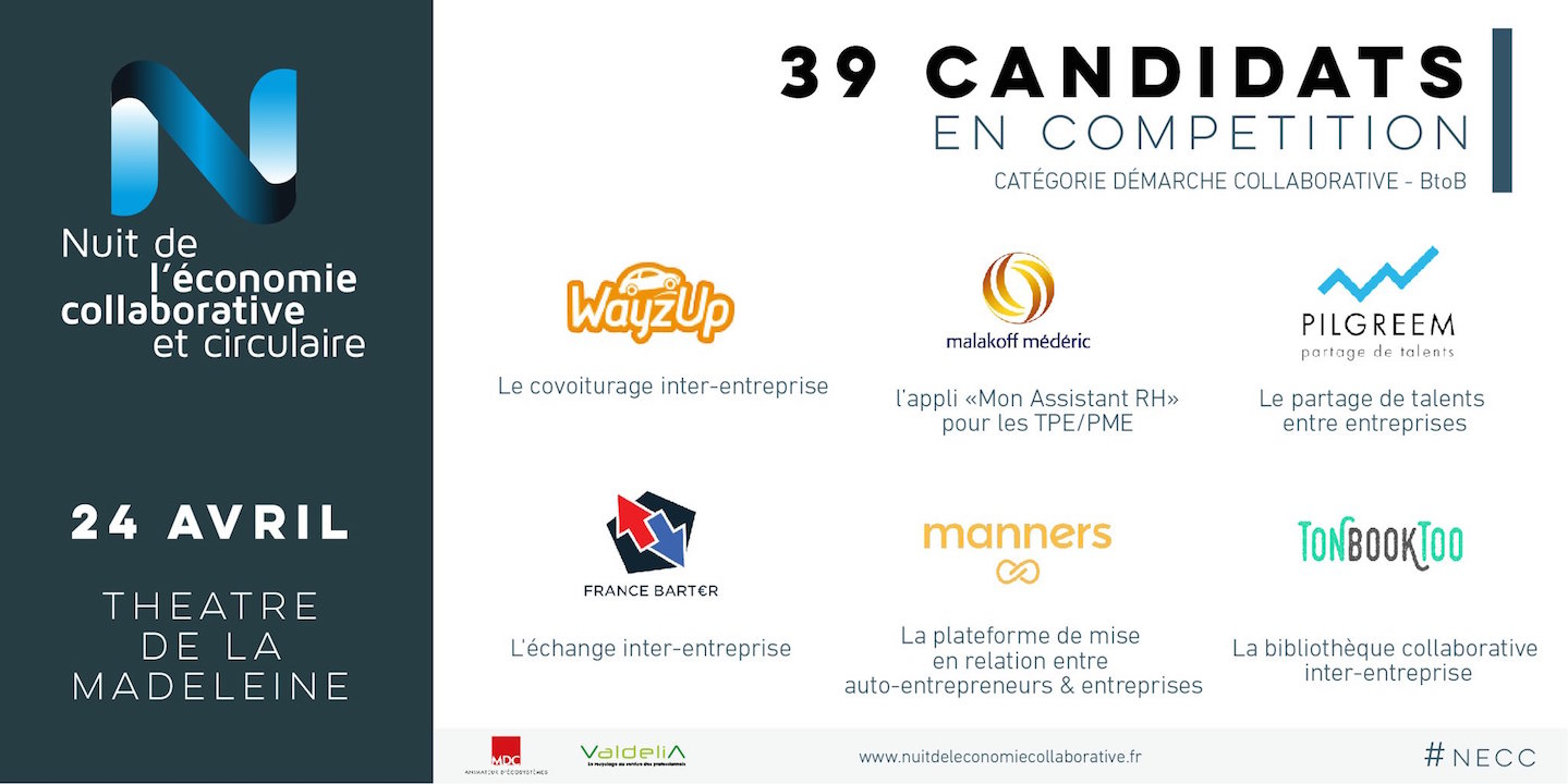 Finaliste de la démarche Collaborative RDV 24 avril 2017